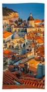 Dubrovnik Sunset Beach Towel