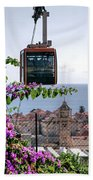 Dubrovniks Cable Car Beach Towel