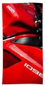 Ducati 1098 Motorcycle -0893c Beach Towel