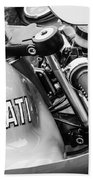 Ducati Desmo Motorcycle -2127bw Beach Towel