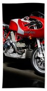 Ducati Mhe Mike Hailwood Evoluzione Beach Towel