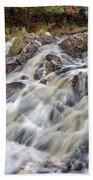 Duchesnay Falls Beach Towel