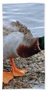 Duck Bath Alantic Beaches Nc Beach Towel