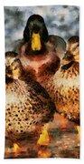 Duck - Id 16235-220308-3425 Beach Towel