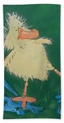 Duckling 2 Beach Towel