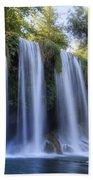 Duden Waterfall - Turkey Beach Towel