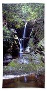 Duggers Creek Falls Beach Towel
