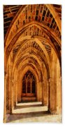 Duke Chapel Beach Towel