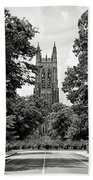 Duke University Chapel Beach Towel