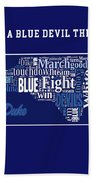 Duke University Fight Song Products Beach Towel