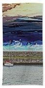 Dun Laoghaire 20 Beach Towel