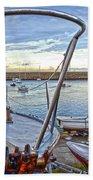 Dun Laoghaire 25 Beach Towel