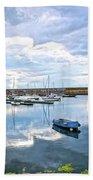 Dun Laoghaire 36 Beach Towel