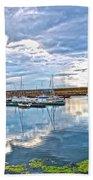 Dun Laoghaire 37 Beach Towel