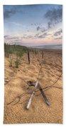 Dune Fencing Down Beach Towel