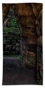 Dungeon Walls Beach Towel
