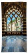 Duomo Di Amalfi Beach Sheet
