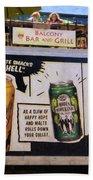 Durango Colorado Brewery Beach Towel