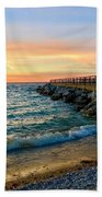 Dusk In Charlevoix Beach Towel