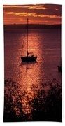 Dusk On The Bay Beach Towel