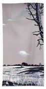 Dutch Heathland Beach Towel