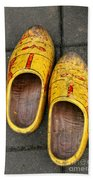 Dutch Wooden Shoes Beach Towel
