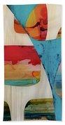 Dvong #24 Beach Towel