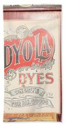 Dy-o-la Dyes Beach Towel