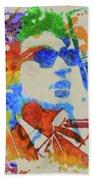 Dylan Watercolor Beach Towel