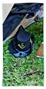 E Company Black Hat Beach Towel