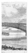 Eads Bridge, St Louis Beach Towel