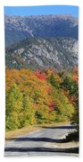 Eagle Cliff And Lafayette Beach Towel