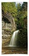 Eagle Cliff Falls Beach Towel