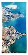 Eagle Eye Of An Ocean Bay Beach Towel