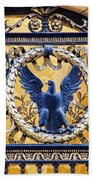 Eagle In The Middle Beach Towel