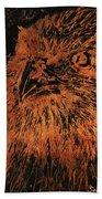 Eagle Metallic Copper Beach Towel