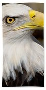 Eagle Power Beach Towel