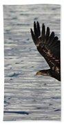 Eagle_7894 Beach Towel