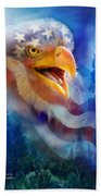 Eagle's Cry Beach Towel