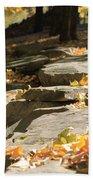 Early Autumn Beach Towel