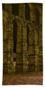 Early Morning At The Aqueduct Of Segovia Beach Towel