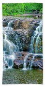 Early Morning At The Upper Falls Beach Towel