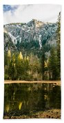 Early Spring Reflections Beach Towel