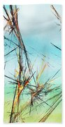 Early Spring Twigs Beach Towel