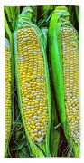 Ears Of Corn Beach Towel