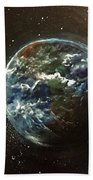 Earth From Above  Beach Towel