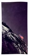 Earth Rise On The Moon Beach Towel