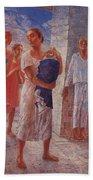 Earthquake In Crimea Kuzma Petrov-vodkin - 1927-1928 Beach Towel
