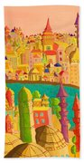 East And West Beach Towel