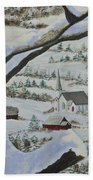 East Orange Vermont Beach Towel